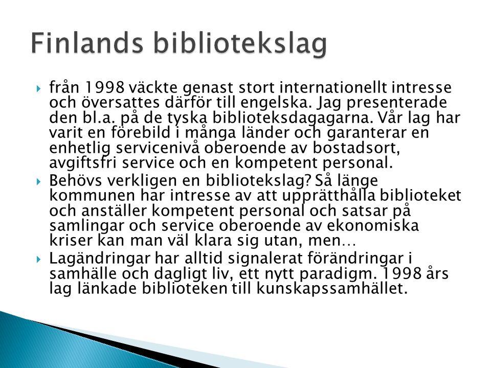 Finlands bibliotekslag