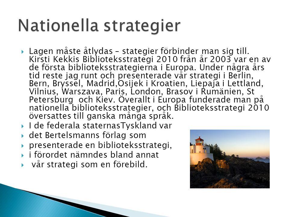 Nationella strategier