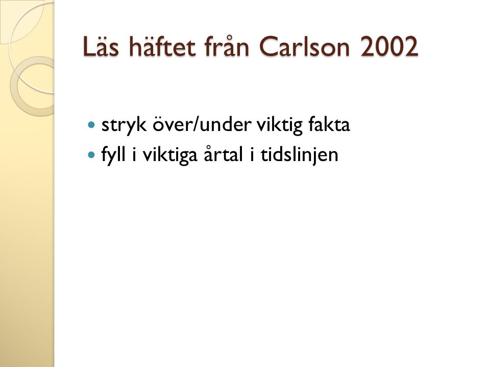 Läs häftet från Carlson 2002