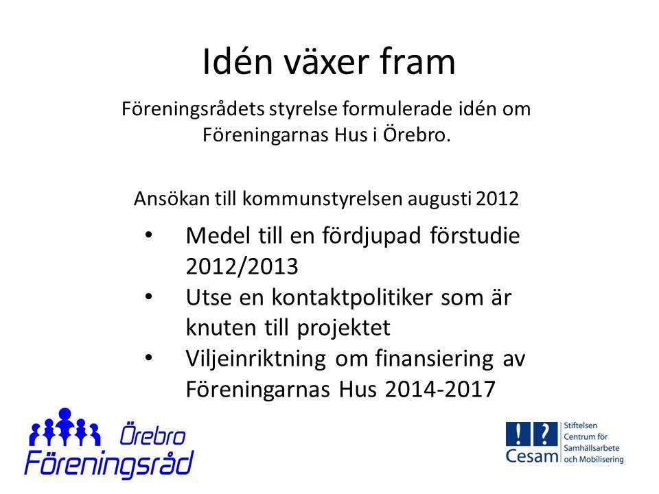 Ansökan till kommunstyrelsen augusti 2012