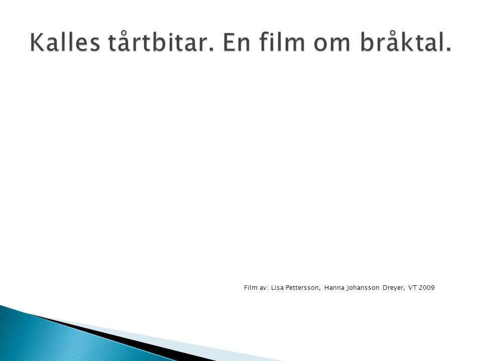 Kalles tårtbitar. En film om bråktal.