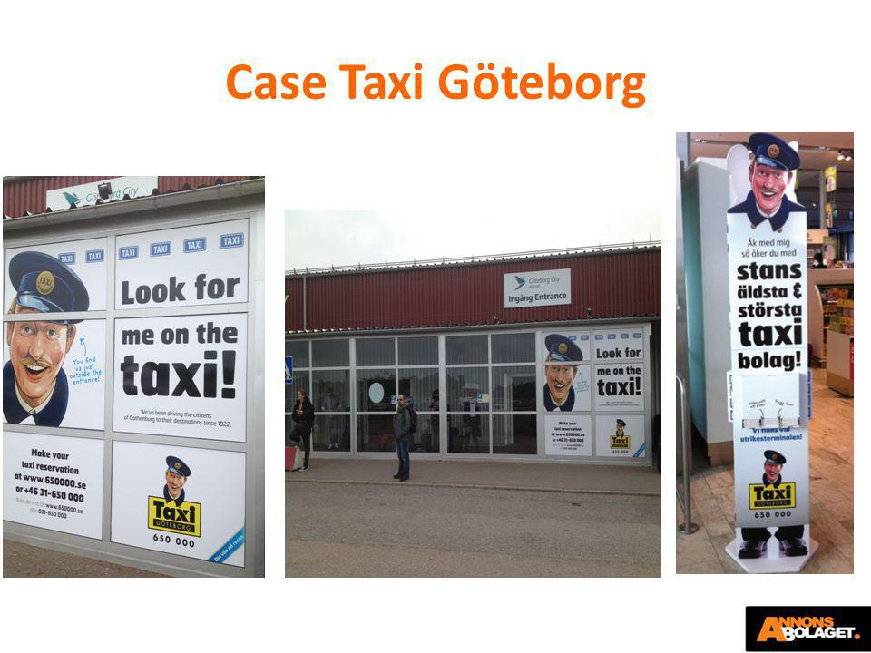 Case Taxi Göteborg