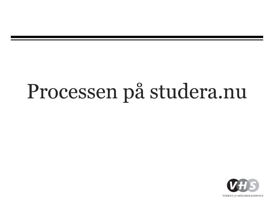Processen på studera.nu