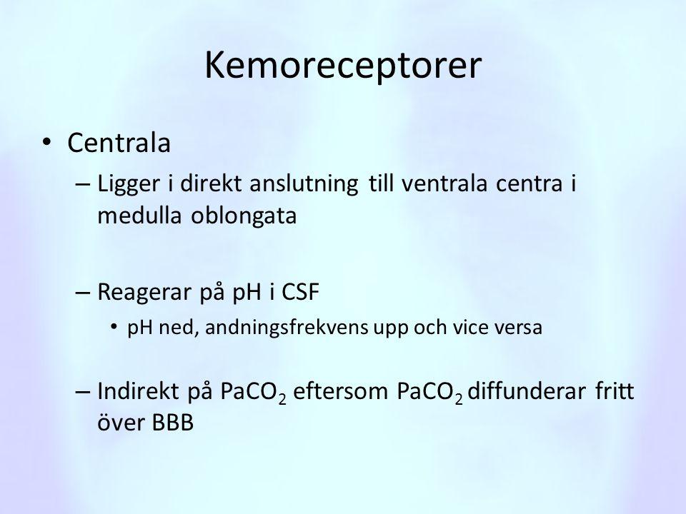 Kemoreceptorer Centrala