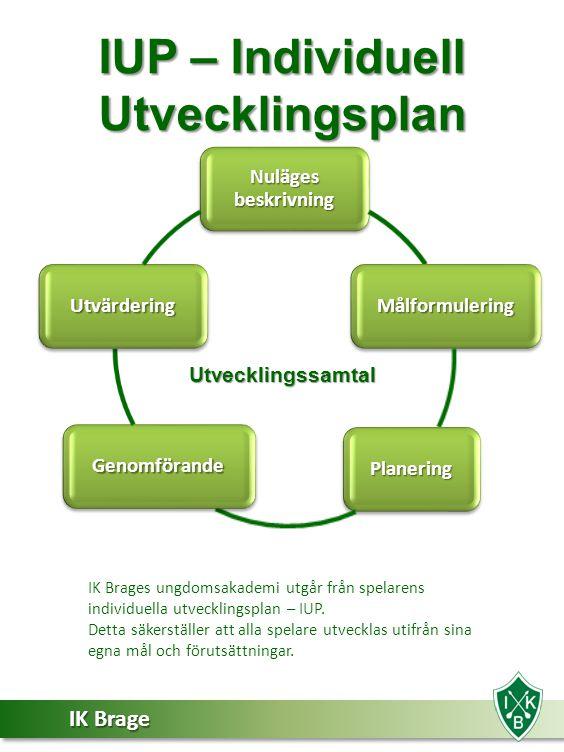 IUP – Individuell Utvecklingsplan