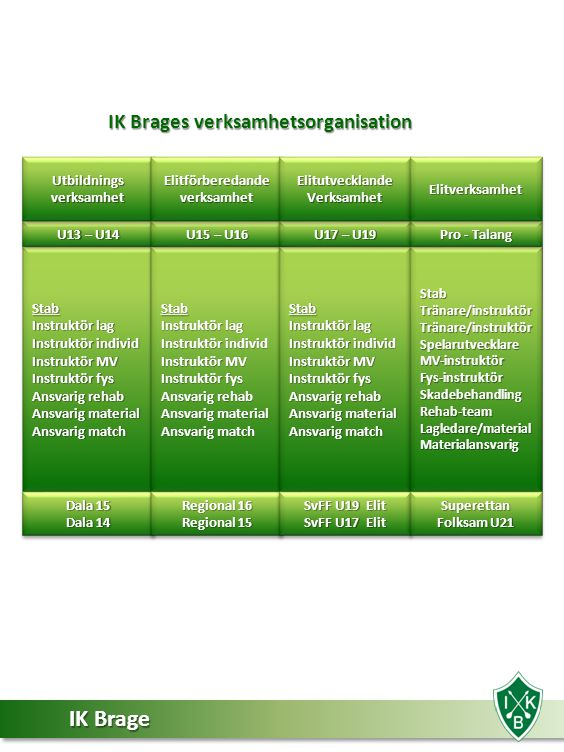 IK Brages verksamhetsorganisation