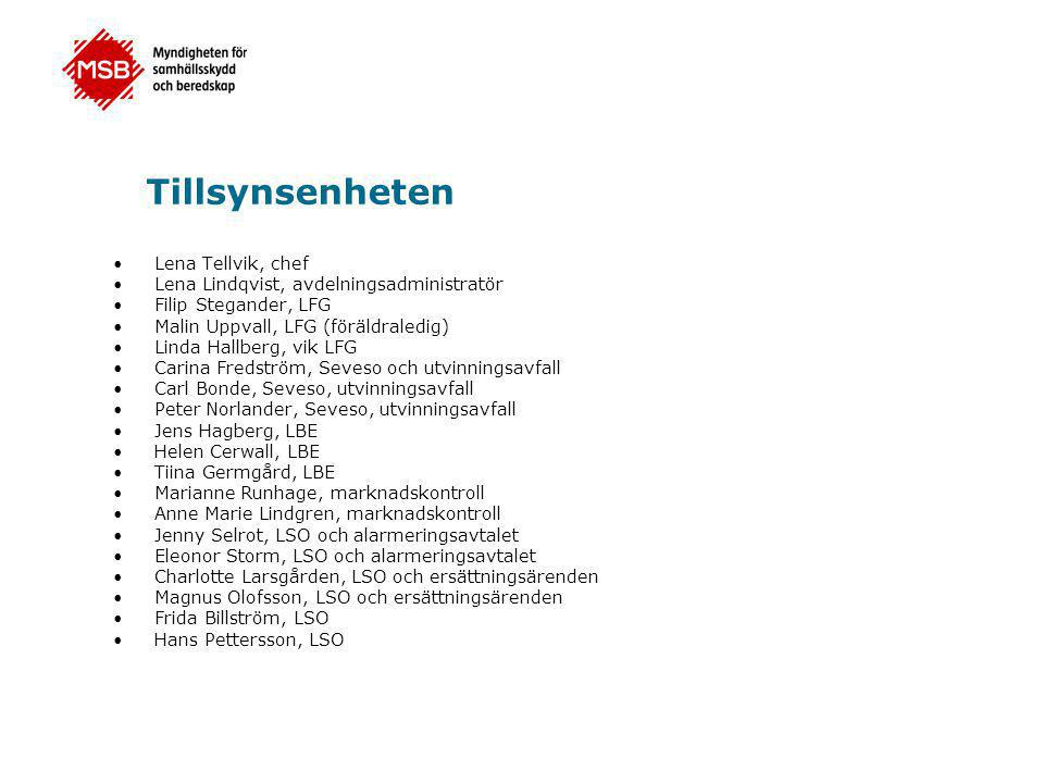 Tillsynsenheten Lena Tellvik, chef