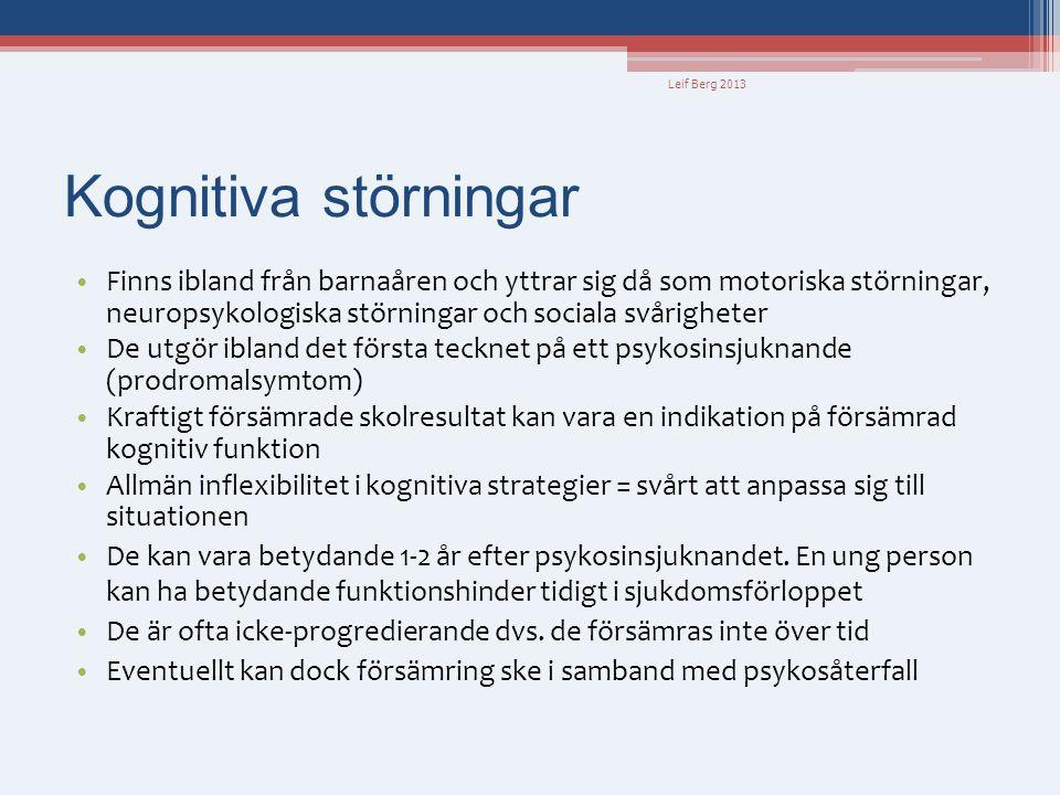 Leif Berg 2013 Kognitiva störningar.