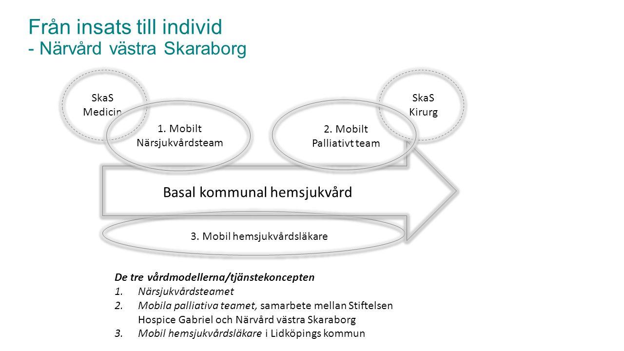 Från insats till individ - Närvård västra Skaraborg
