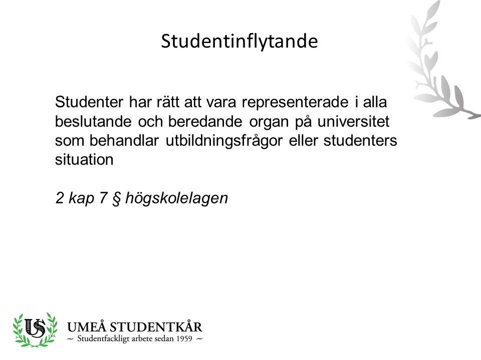 Studentinflytande