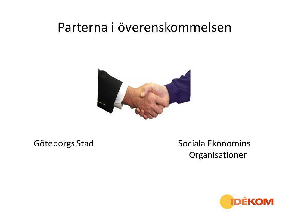 Parterna i överenskommelsen