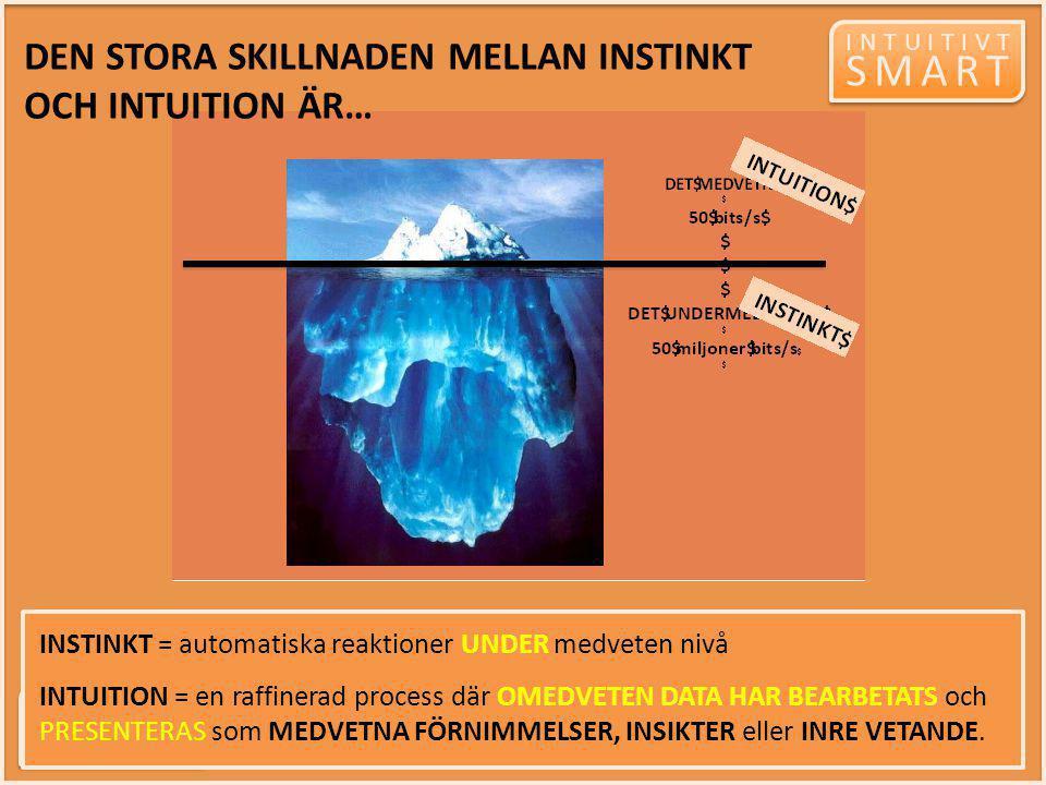 SMART DEN STORA SKILLNADEN MELLAN INSTINKT OCH INTUITION ÄR…