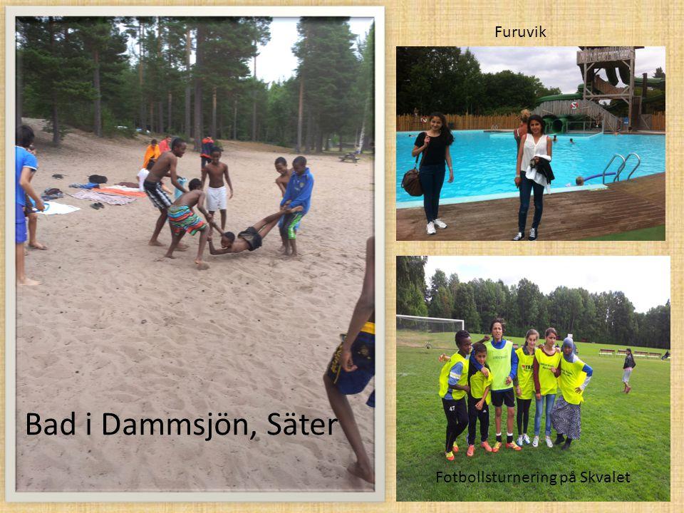 Furuvik Bad i Dammsjön, Säter Fotbollsturnering på Skvalet