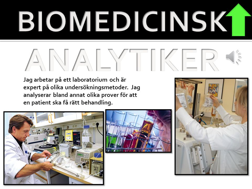 ANALYTIKER BIOMEDICINSK