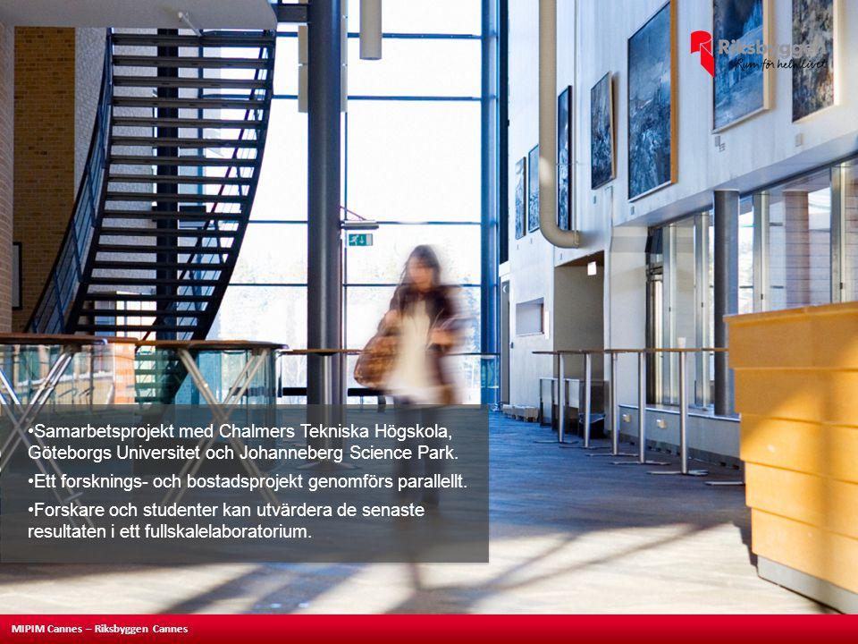 Samarbetsprojekt med Chalmers Tekniska Högskola, Göteborgs Universitet och Johanneberg Science Park.
