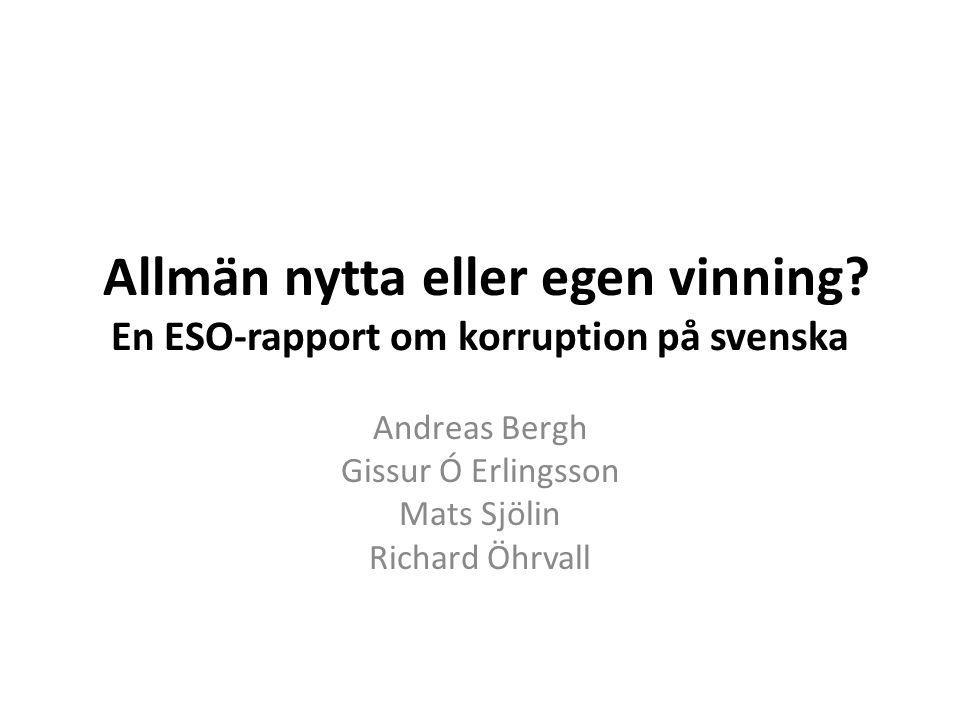 Andreas Bergh Gissur Ó Erlingsson Mats Sjölin Richard Öhrvall