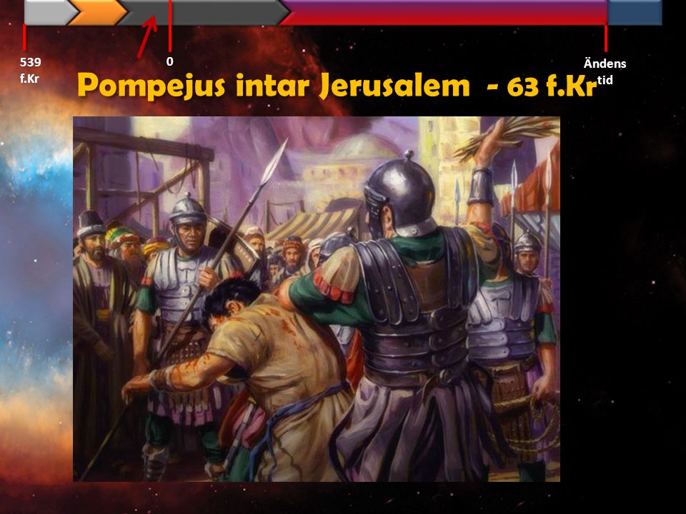 Pompejus intar Jerusalem - 63 f.Kr