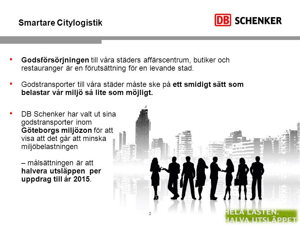 Smartare Citylogistik