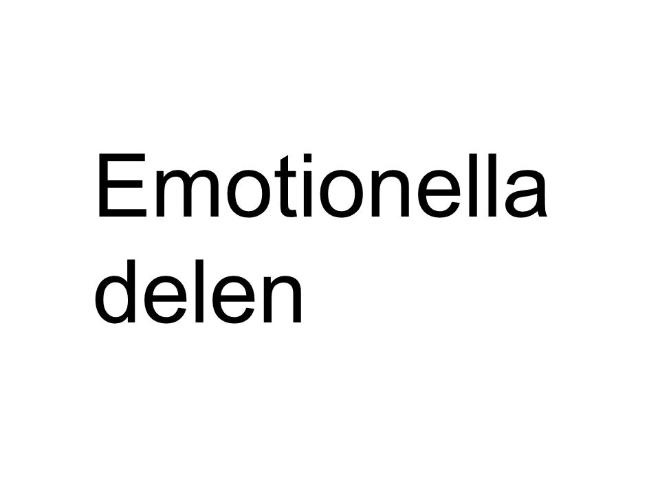 Emotionella delen LOTTA
