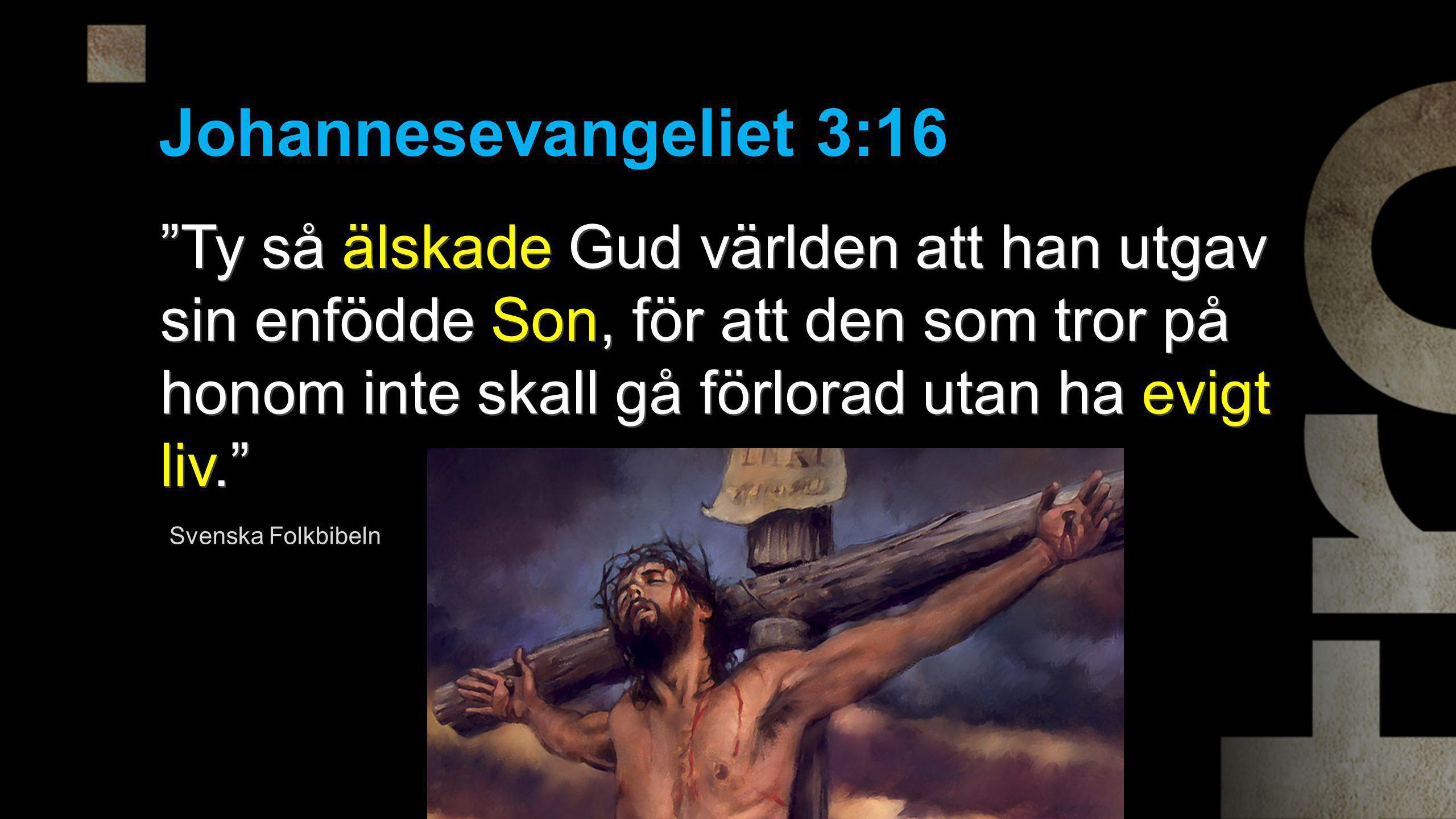 Johannesevangeliet 3:16