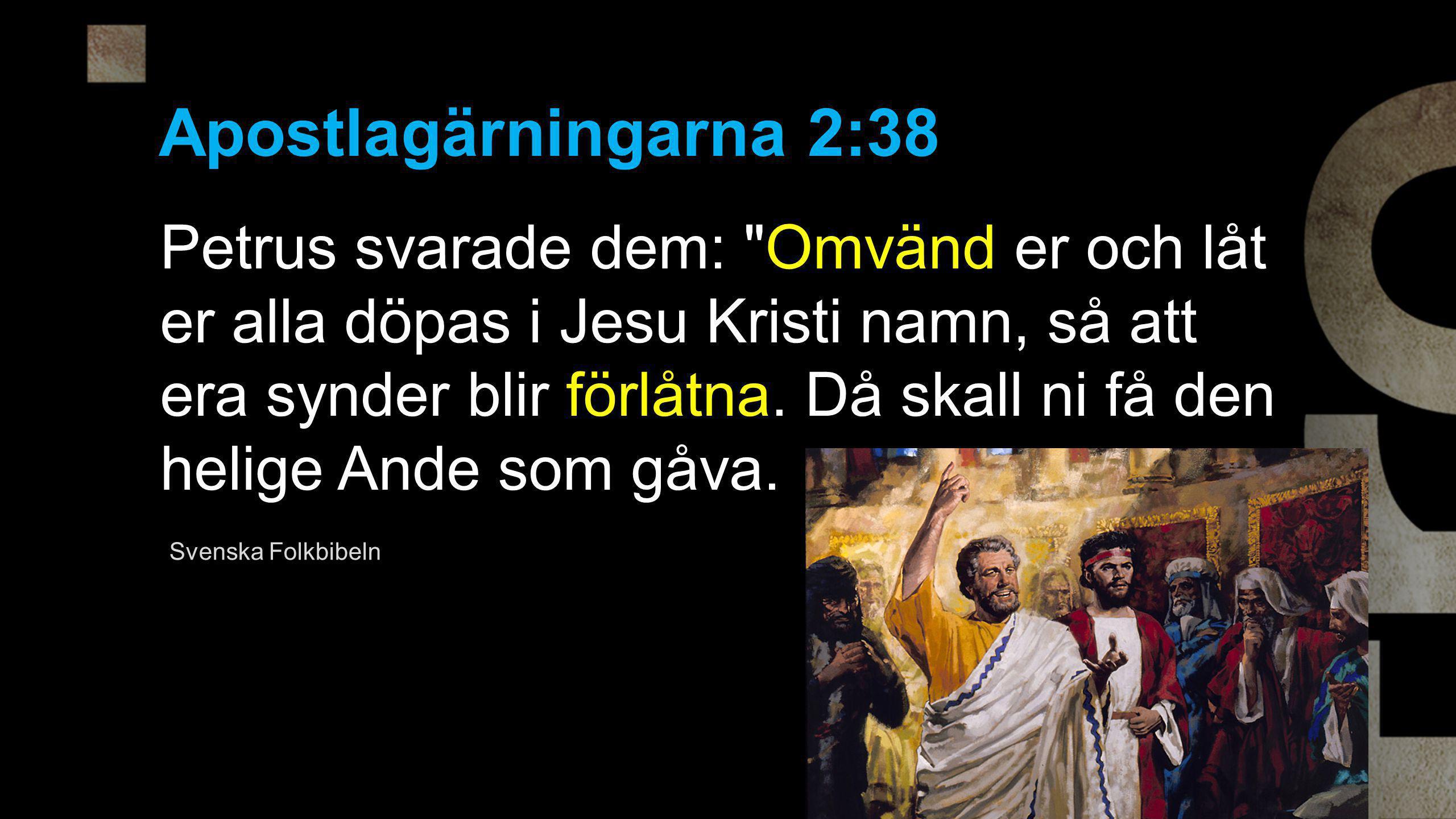 Apostlagärningarna 2:38