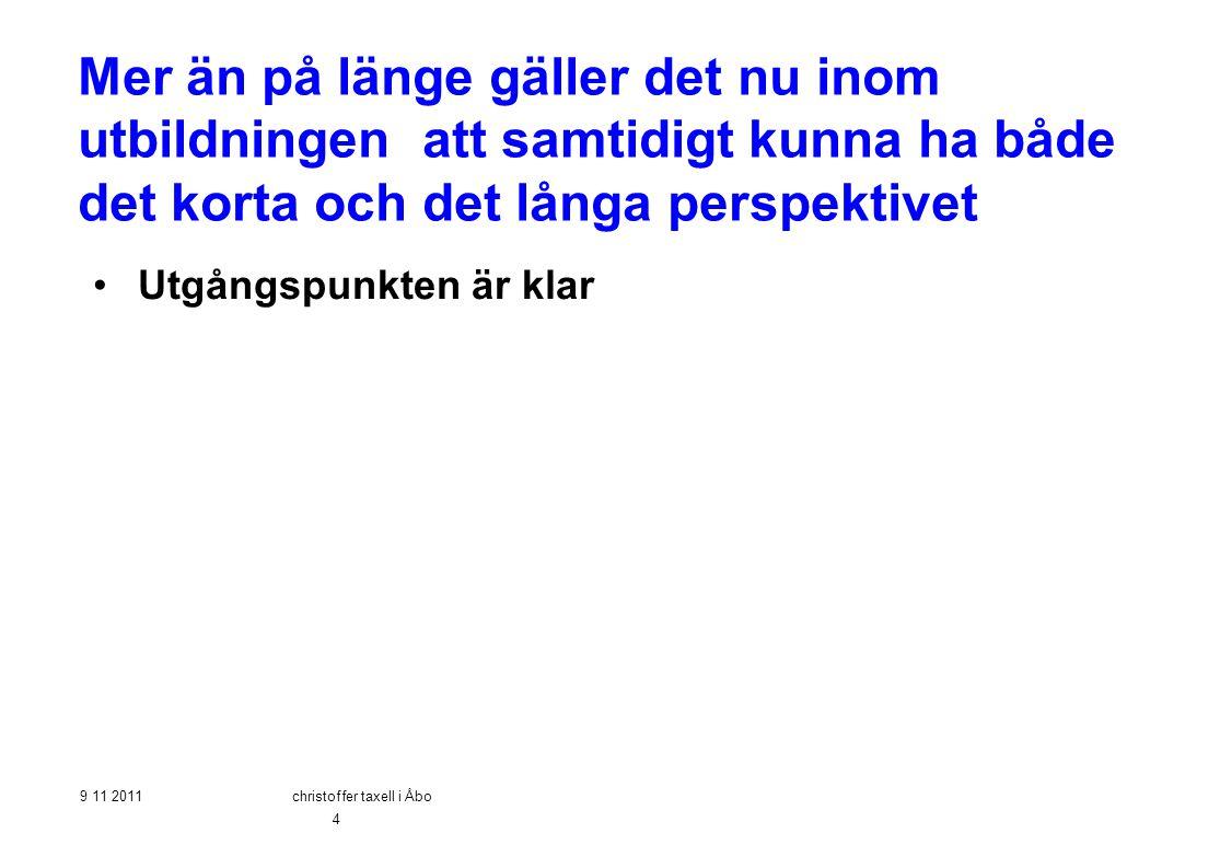 christoffer taxell i Åbo
