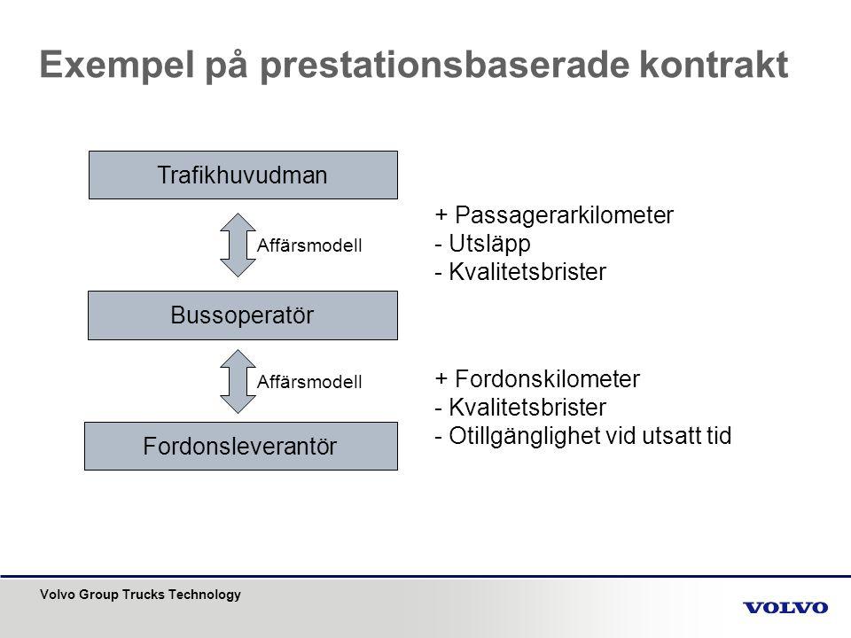 Exempel på prestationsbaserade kontrakt