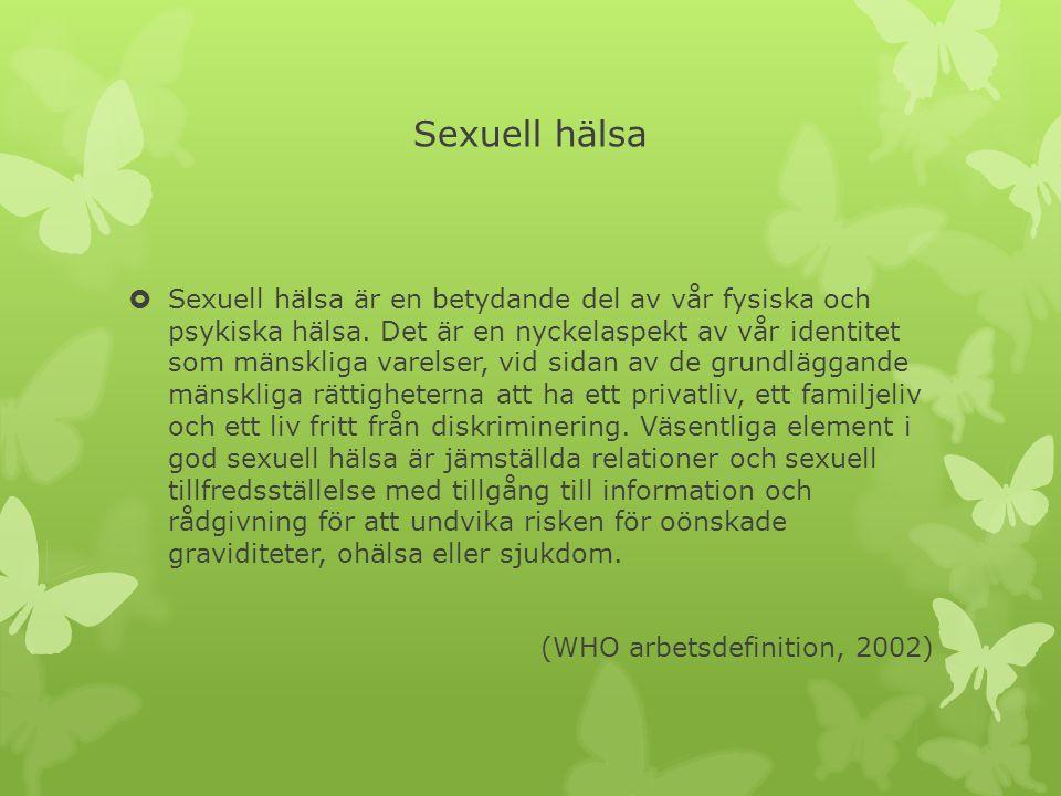 Sexuell hälsa