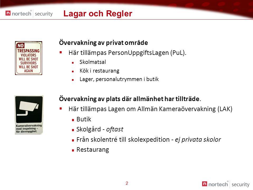 Lagar och Regler Övervakning av privat område