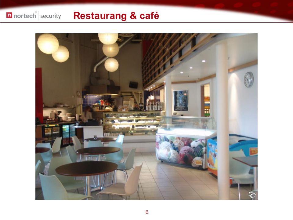 Restaurang & café