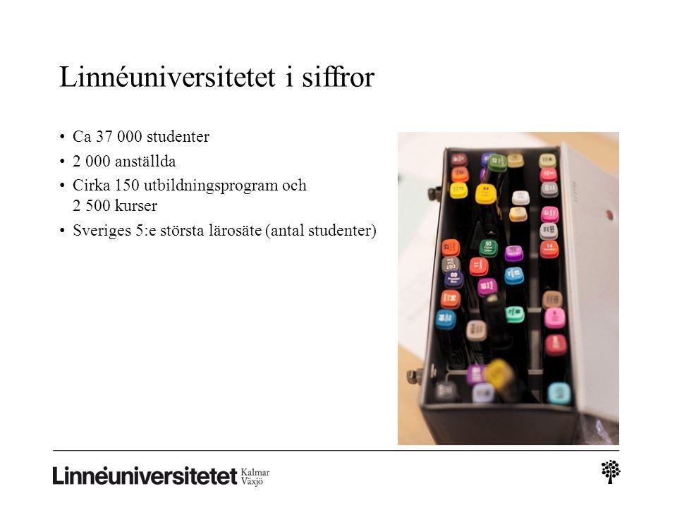 Linnéuniversitetet i siffror