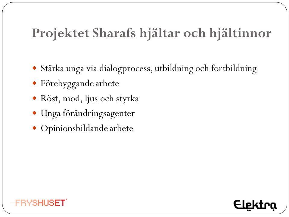 Projektet Sharafs hjältar och hjältinnor