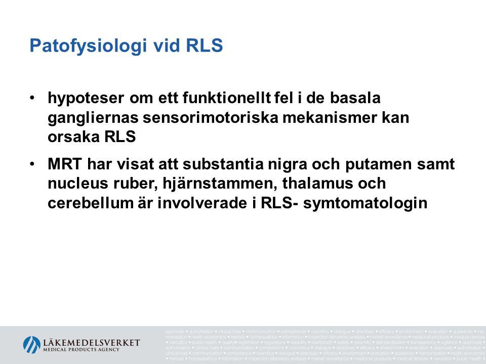Patofysiologi vid RLS hypoteser om ett funktionellt fel i de basala gangliernas sensorimotoriska mekanismer kan orsaka RLS.