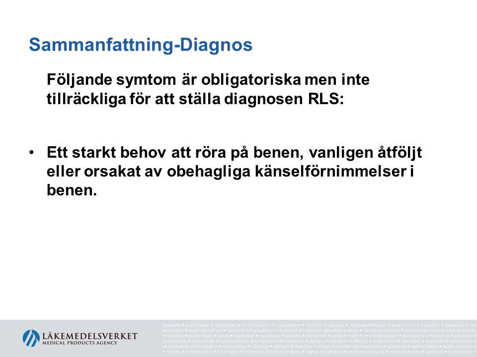 Sammanfattning-Diagnos