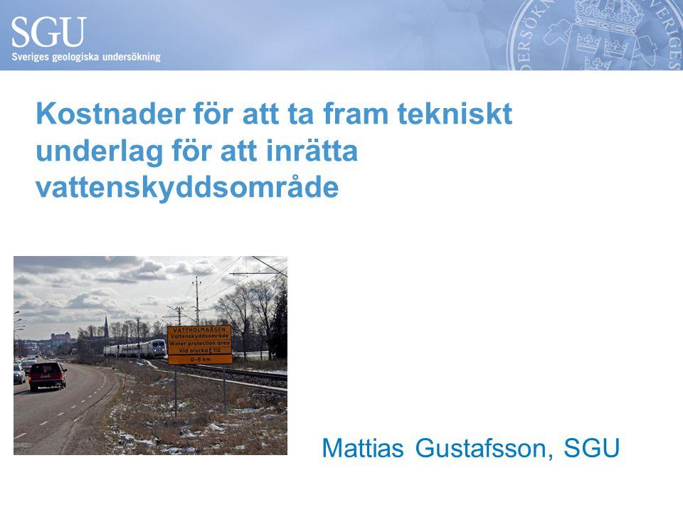 Mattias Gustafsson, SGU