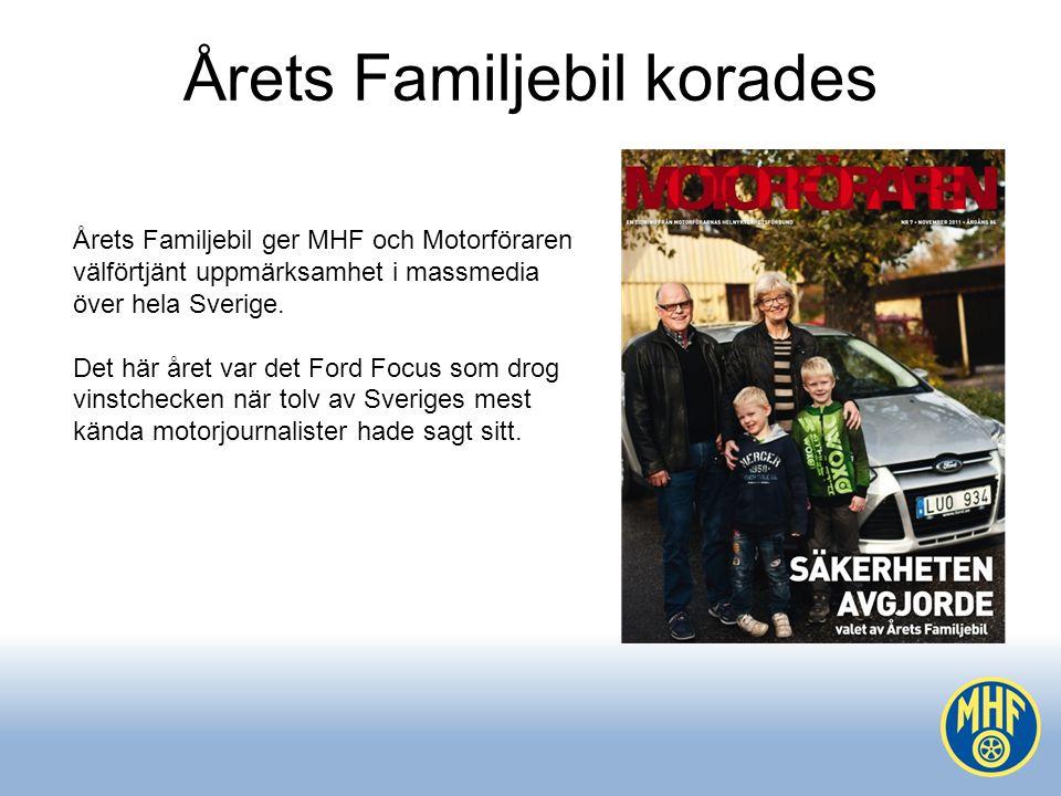 Årets Familjebil korades
