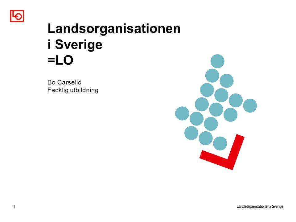 Landsorganisationen i Sverige =LO