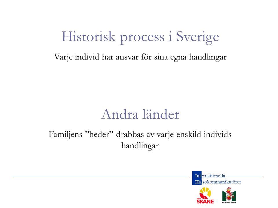 Historisk process i Sverige