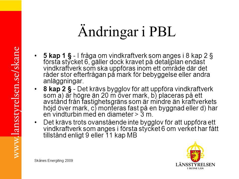 Ändringar i PBL