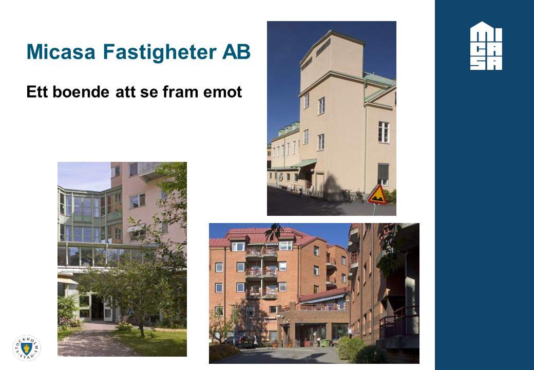 Micasa Fastigheter AB Ett boende att se fram emot