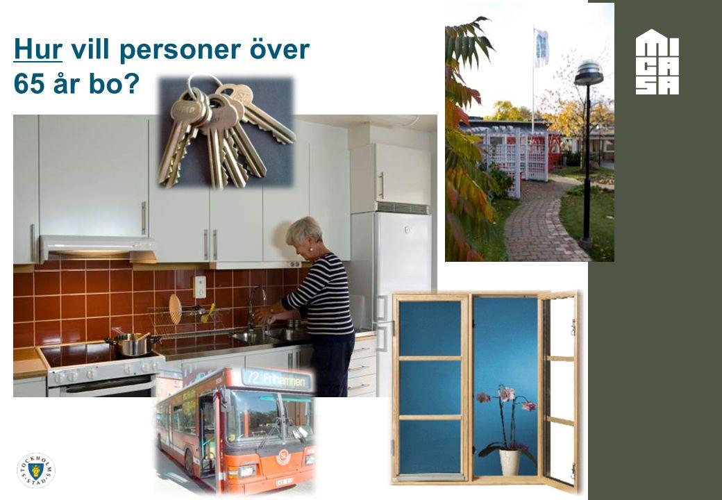 Hur vill personer över 65 år bo