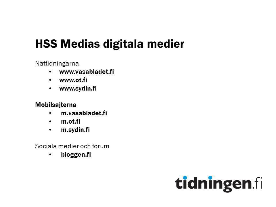HSS Medias digitala medier