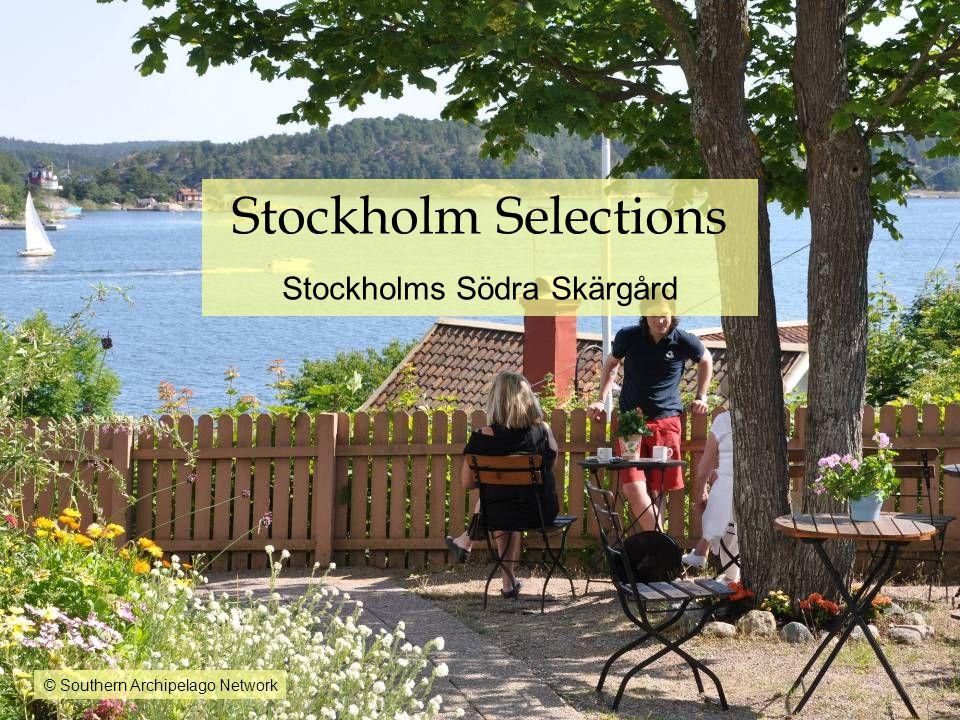 Stockholm Selections Stockholms Södra Skärgård