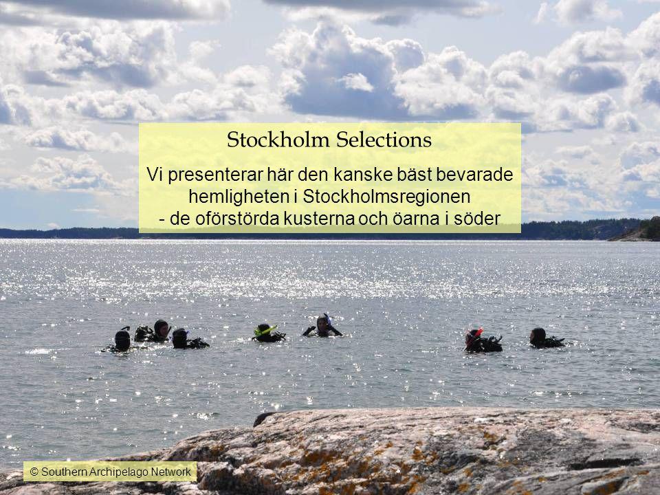 Stockholm Selections Vi presenterar här den kanske bäst bevarade hemligheten i Stockholmsregionen - de oförstörda kusterna och öarna i söder.