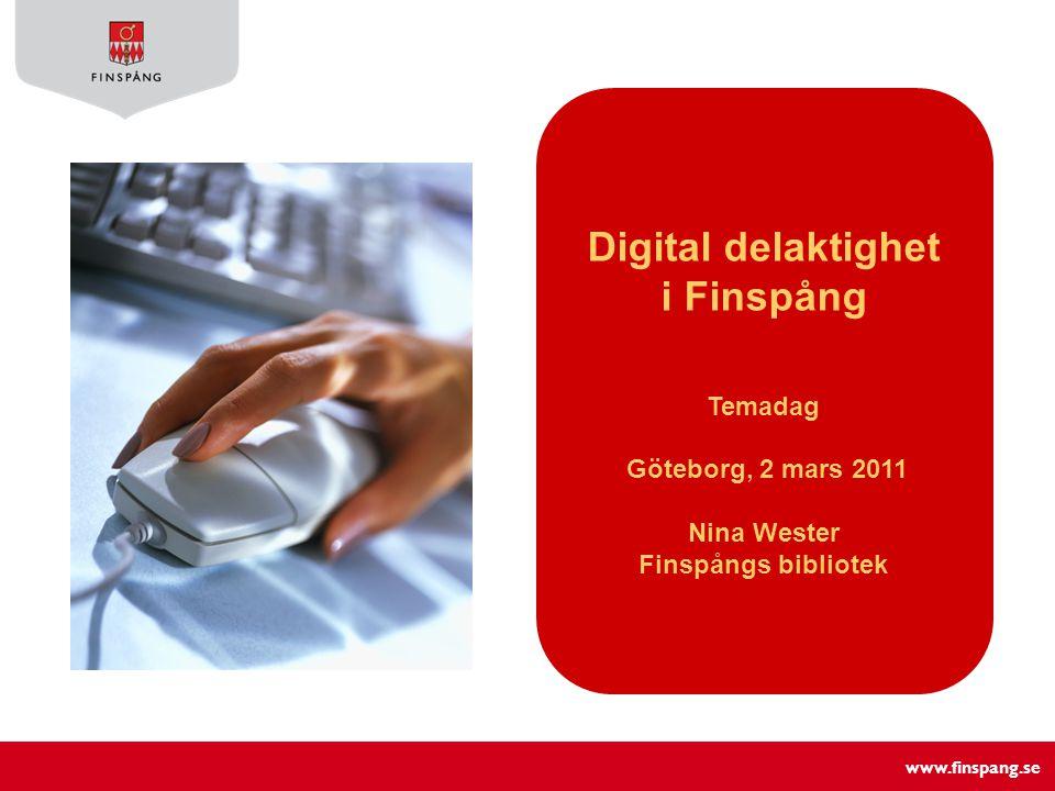Digital delaktighet i Finspång