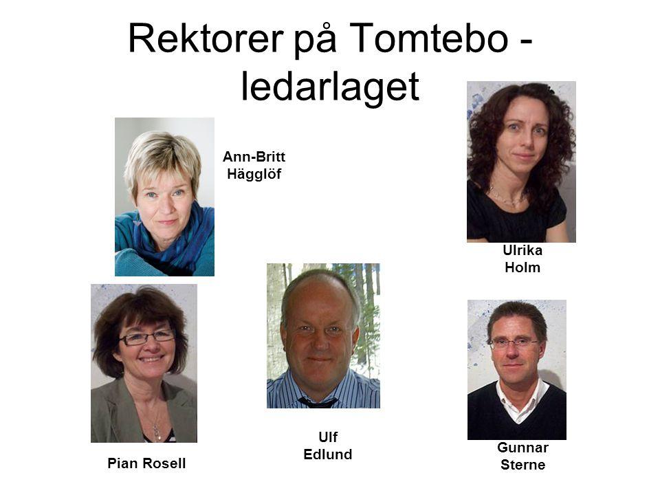 Rektorer på Tomtebo - ledarlaget