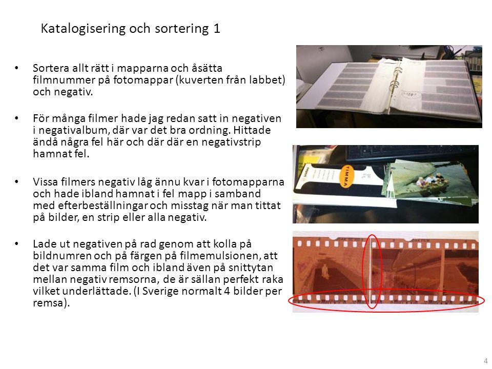 Katalogisering och sortering 1