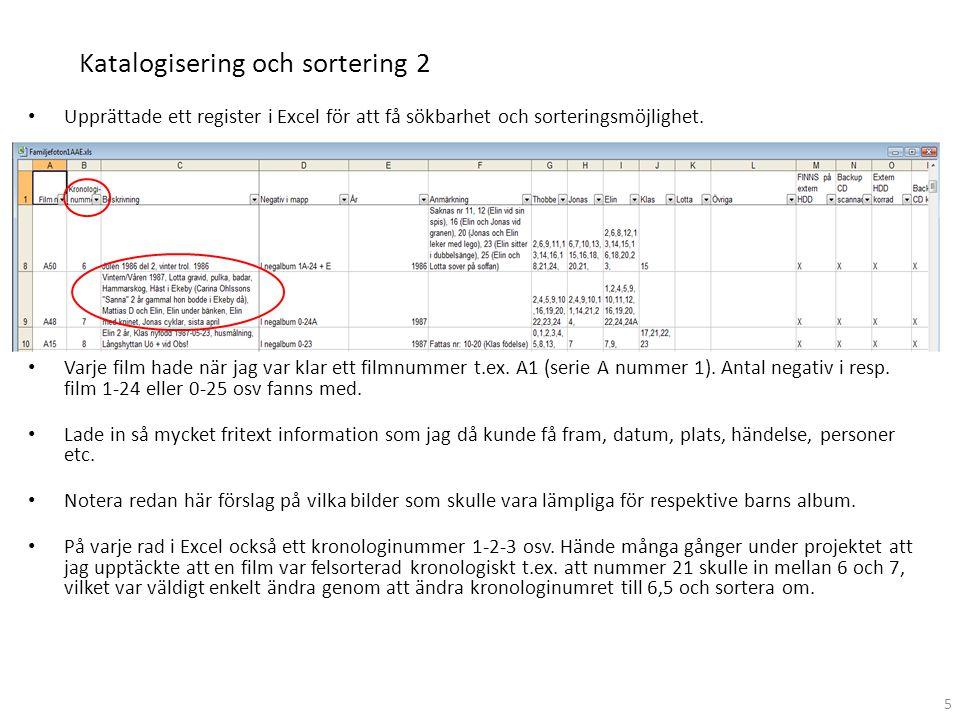 Katalogisering och sortering 2