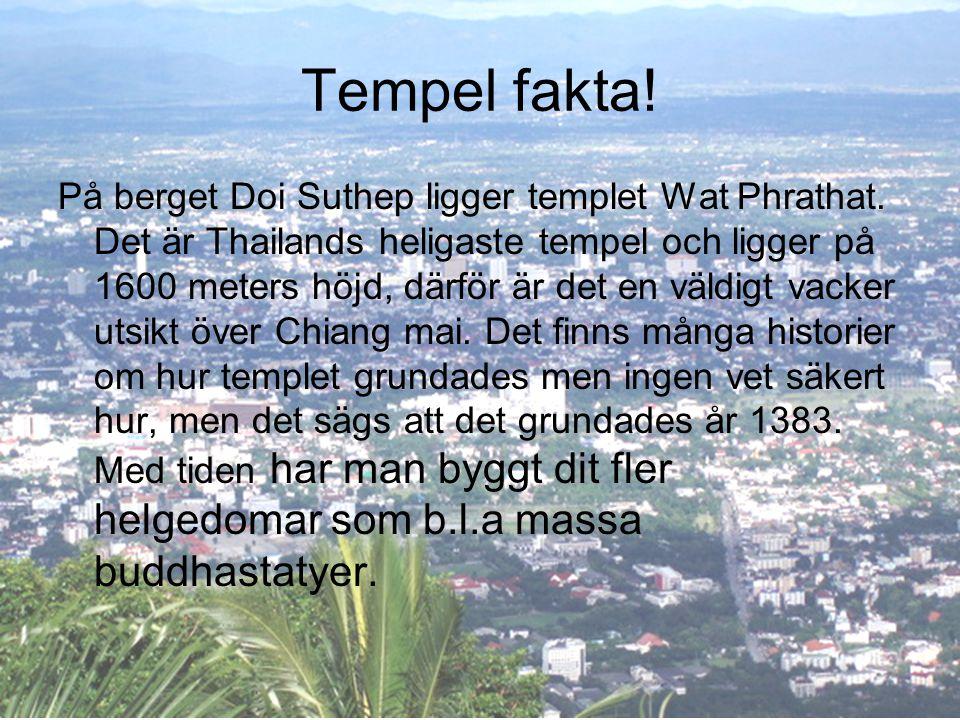 Tempel fakta!