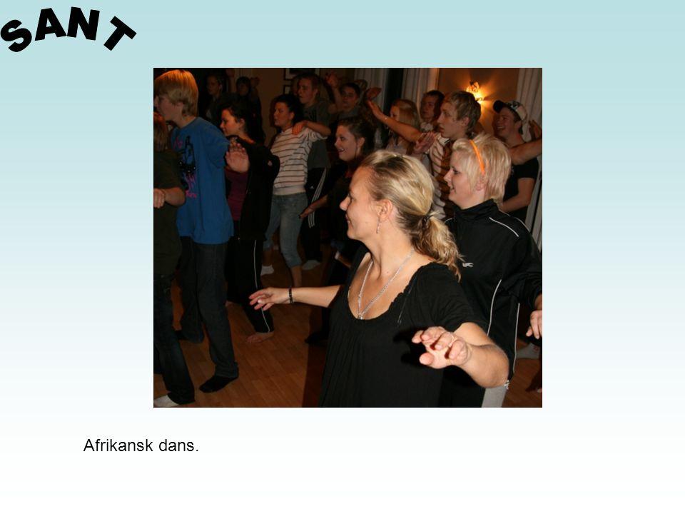 SANT Afrikansk dans.